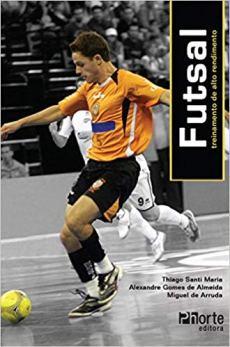 capa do livro futsal treinamento de alto rendimento