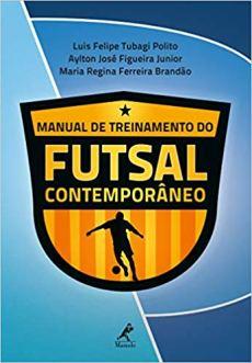 capa do livro manual de treinamento do futsal contemporaneo