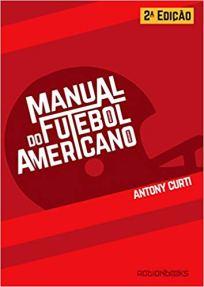 capa do livro manual do futebol americano