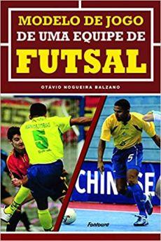 capa do livro modelo de jogo de uma equipe de futsal