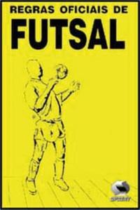 capa do livro regras oficiais de futsal