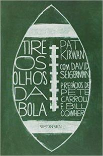 capa do livro tire os olhos da bola