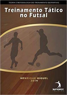 capa do livro treinamento tatico no futsal