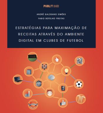 capa do livro estrategias para maximizacao de receitas atraves do ambiente digital em clubes de futebol