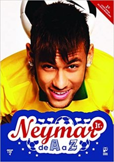 capa do livro neymar jr de a a z
