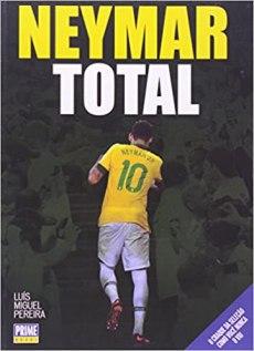 capa do livro neymar total