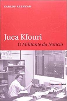 capa do livro o militante da noticia