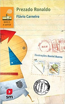 capa do livro prezado ronaldo