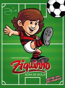 capa do livro ziquinho bom de bola livro de atividades cartela com 250 adesivos