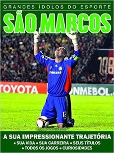 capa do livro grandes idolos do esporte sao marcos a sua impressionante trajetoria sua vida sua carreira seus titulos todos os jogos curiosidades