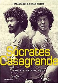 capa do livro socrates e casagrande uma historia de amor