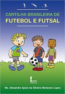 capa do livro cartilha brasileira de futebol e futsal