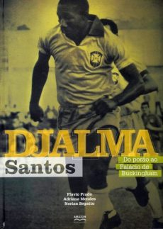 capa do livro djalma santos do porao ao palacio de buckingham