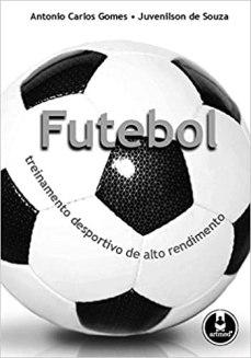 capa do livro futebol treinamento desportivo de alto rendimento