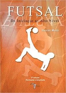capa do livro futsal da iniciacao ao alto nivel