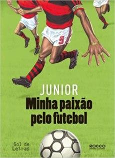 capa do livro minha paixao pelo futebol