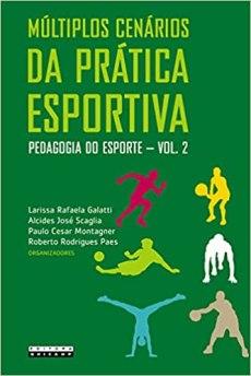 capa do livro multiplos cenarios da pratica esportiva pedagogia do esporte vol 2