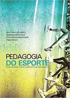 capa do livro pedagogia do esporte aspectos conceituais da competicao e estudos aplicados