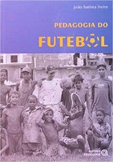 capa do livro pedagogia do futebol
