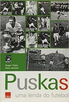 capa do livro puskas uma lenda do futebol