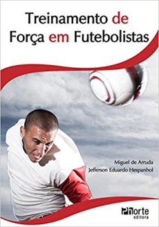 capa do livro treinamento de forca em futebolistas