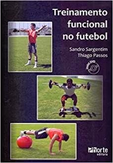 capa do livro treinamento funcional no futebol