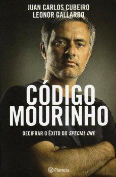capa do livro codigo mourinho decifrar o exito do special one