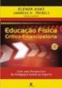 capa do livro educacao fisica critico emancipatoria com uma perspectiva da pedagogia alema do esporte