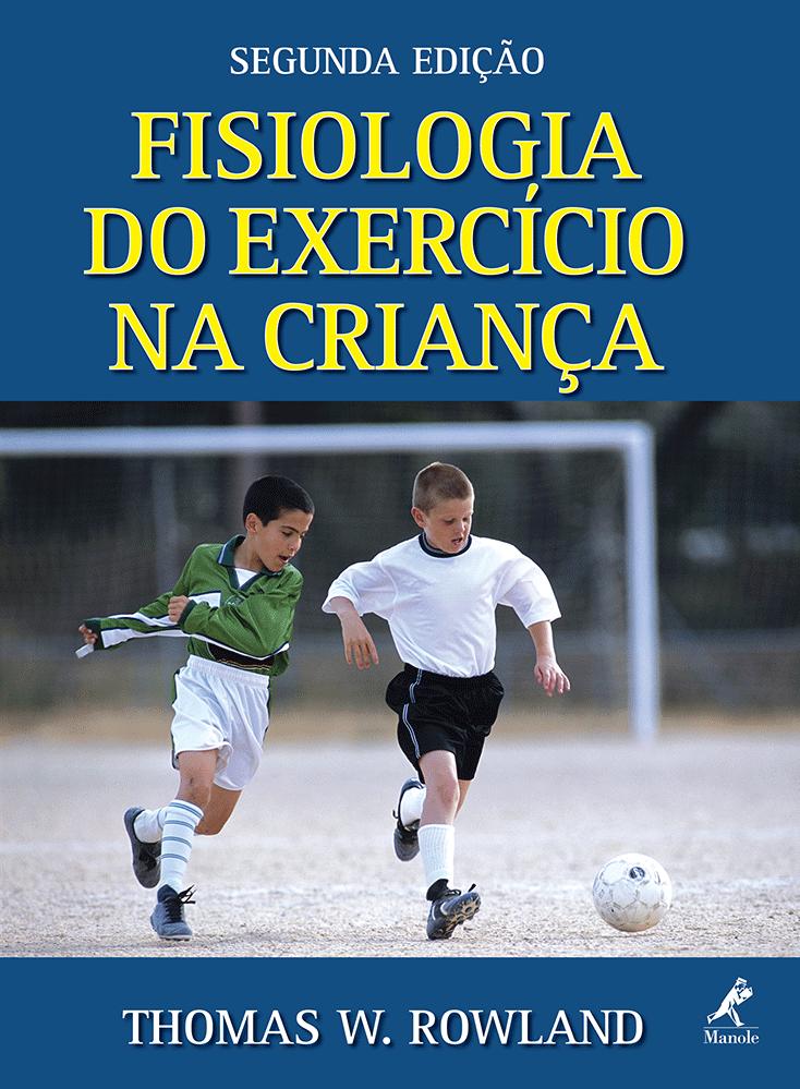 capa do livro fisiologia do exercicio na crianca