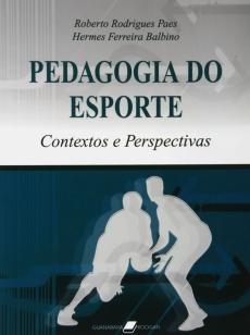 capa do livro pedagogia do esporte contextos e perspectivas