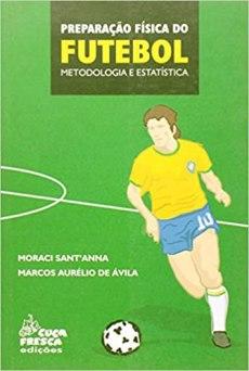 capa do livro preparacao fisica do futebol metodologia e estatistica