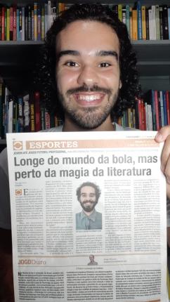 materia jornal o dia alagoas literatura e futebol leo lyra 2