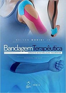 capa do livro bandagem terapeutica conceito de estimulacao tegumentar