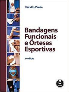 capa do livro bandagens funcionais e orteses esportivas