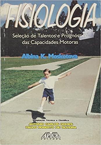 capa do livro fisiologia selecao de talentos e prognosticos das capacidades motoras