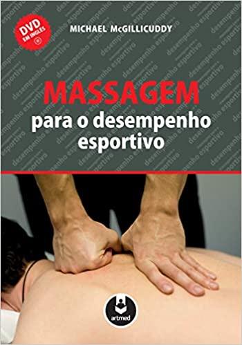 capa do livro massagem para o desempenho esportivo