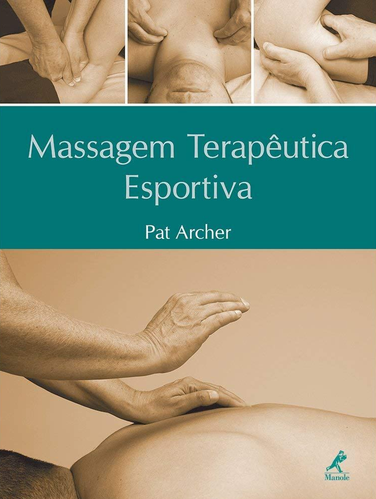 capa do livro massagem terapeutica esportivo