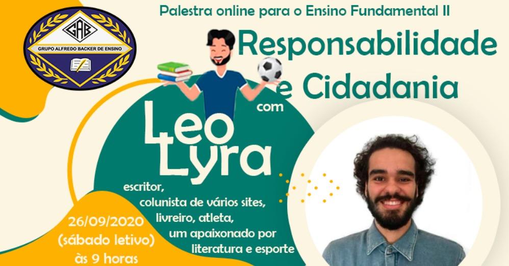 palestra leo lyra literaturaefutebol online para ensino fundamental ll