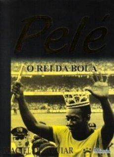 capa do livro pele o rei da bola