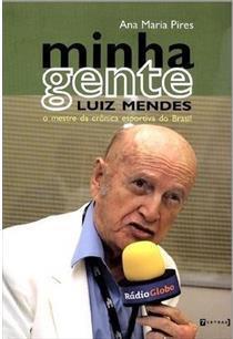 capa do livro minha gente o mestre da cronica esportiva do brasil