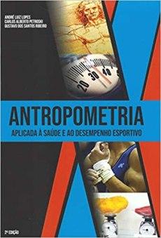 capa do livro antropometria aplicada a saude e ao desempenho esportivo