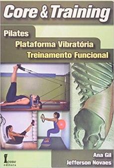 capa do livro core e training pilates plataforma vibratoria treinamento funcional