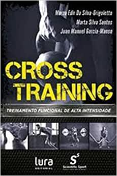 capa do livro cross training treinamento funcional de alta intensidade