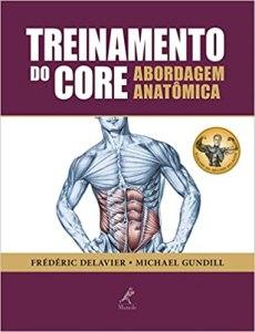 capa do livro treinamento do core abordagem anatomica