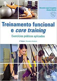 capa do livro treinamento funcional e core training exercicios praticos aplicados