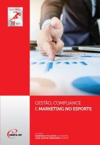 capa do livro Gestao, compliance e marketing no esporte